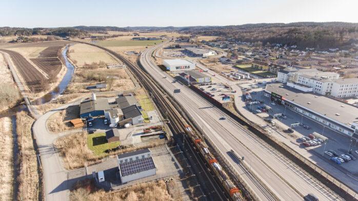 Willys planerar för en 3100 kvm stor butik i Älvängen med parkeringar på taket.