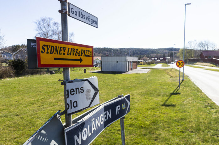 På Gallåsvägen i Nol planeras tre flerbostadshus byggas.