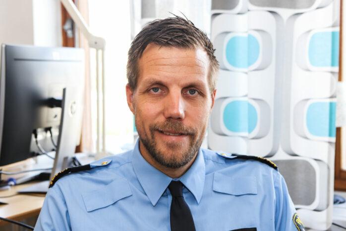 Christian Nylén, lokalpolisområdeschef Kungälv/Ale.