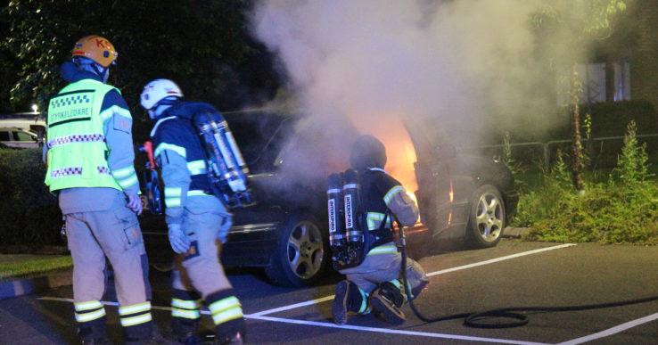 Bilbrand i Nödinge