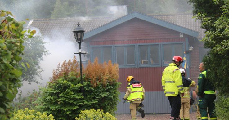 Villabrand i Älvängen