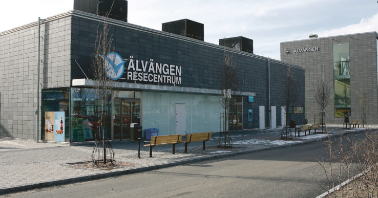 Situationen på Älvängens resecentrum oroar