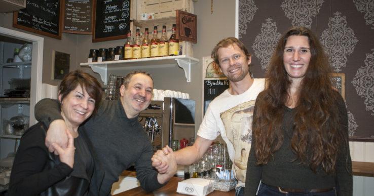 Ny kaféägare på Albotorget