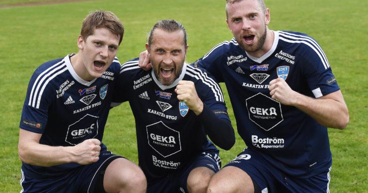 Edet FK vände och vann