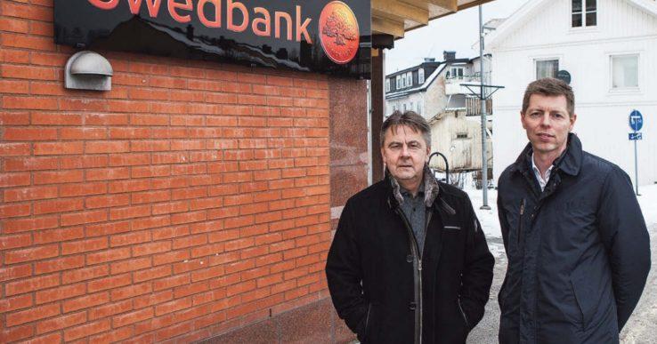 Swedbank kraftsamlar i Älvängen