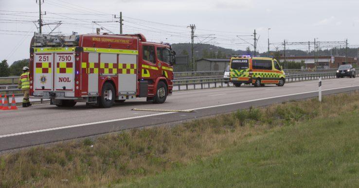 Olycka på E45