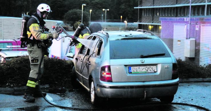 Bilbrand i Alafors
