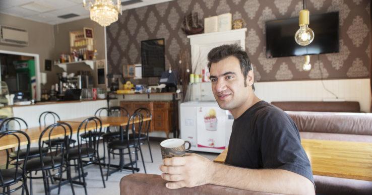 Ny caféägare i Skepplanda