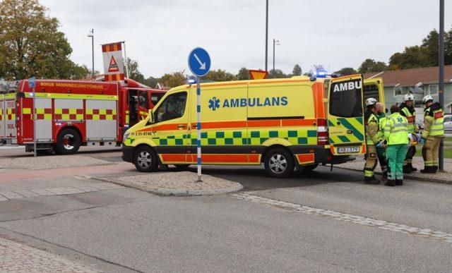 Mopedolycka i Älvängen
