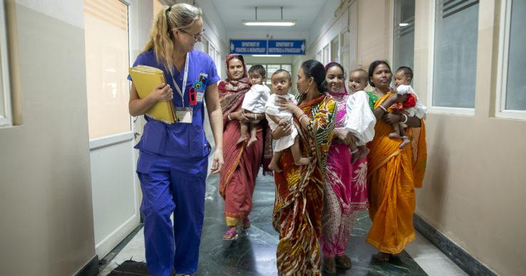 Erica förändrade liv i Indien