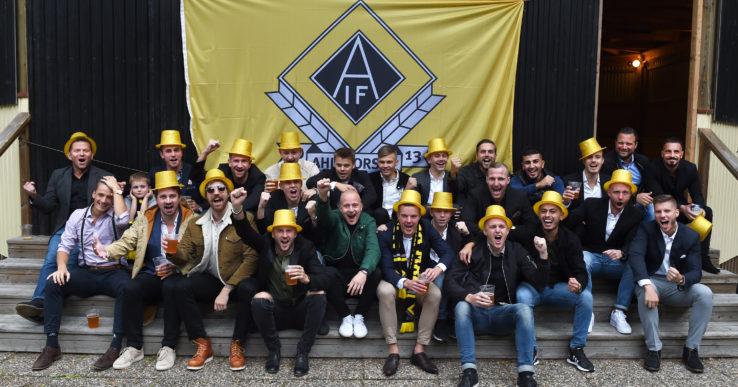 Så firades AIF:s guldhjältar